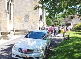 Mercedes wedding car hire in Chippenham